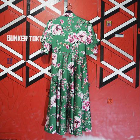 Kirpi Dress Green