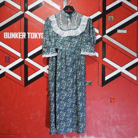 Kirpi Dress Blue Green