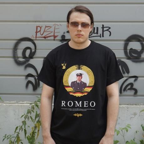 """MIRA-MIRU! Tee """"Romeo"""""""