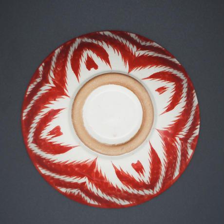 Rishton ceramic Red small bowl