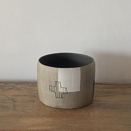 山田睦美 珠洲焼 茶碗