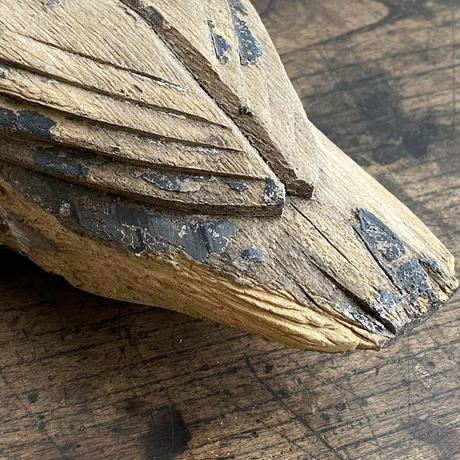 フォークアート アメリカ木工美術 1900年代初期 デコイ一対