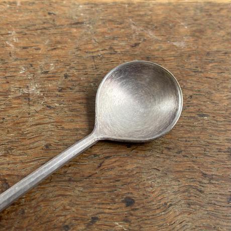 東屋 匙 真鍮銀メッキ 小
