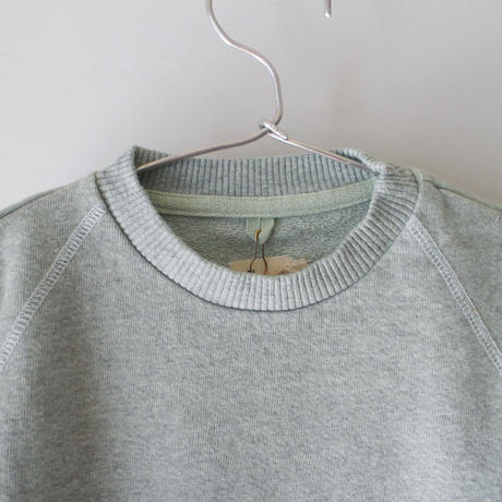 Kids heathered pull over / jade