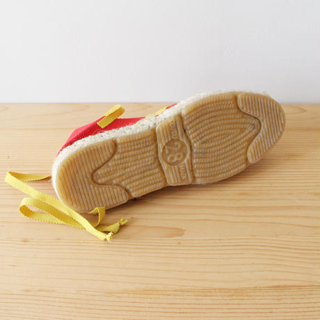 Kids espadrille / red mustard