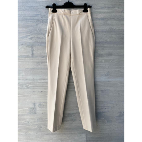 HARRIS WHARF LONDON / Straight Leg Trousers Techno Viscose