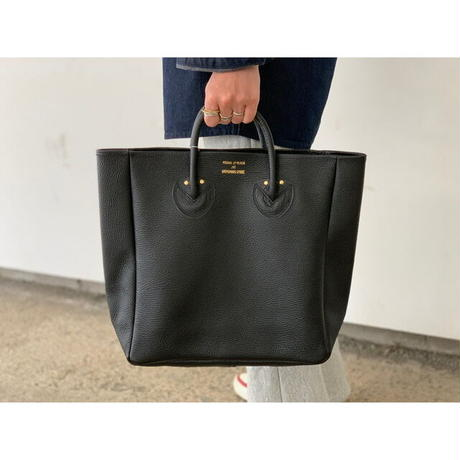 YOUNG&OLSEN / EMBOSSED LEATHER TOTE M