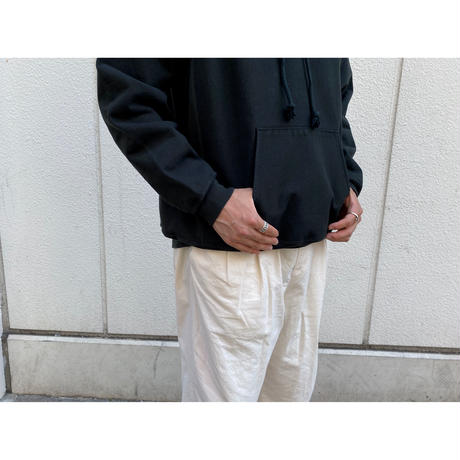 AURALEE / SUPER MILLED SWEAT P/O PARKA