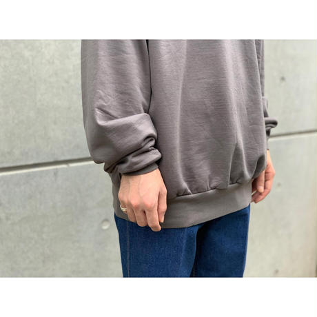 AURALEE / ELASTIC HIGH GAUGE SWEAT P/O
