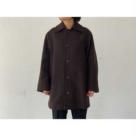 AURALEE(WOMEN`S) / DOUBLE CLOTH LIGHT MELTON HALF COAT