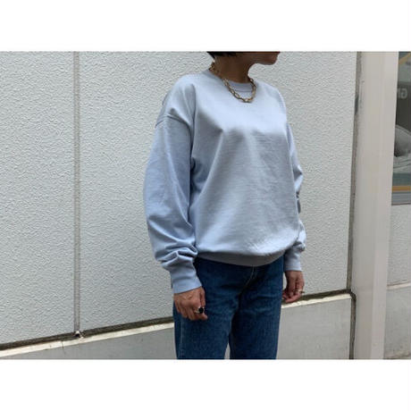 AURALEE(WOMEN`S) / ORGANIC COTTON COMPACT SWEAT P/O