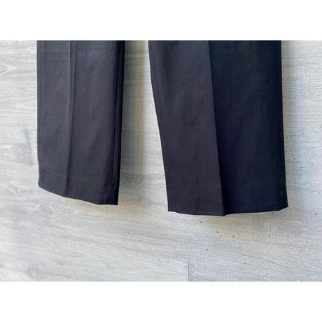 STUDIO NICHOLSON / MODERN COTTON TWILL SLIM FIT PANT