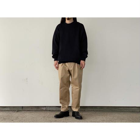 SCYE / Double Faced Cotton Crewneck Top