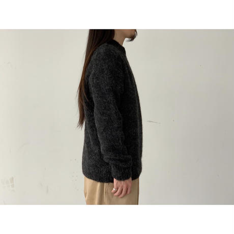 AURALEE / ALPACA WOOL SUPER LIGHT KNIT BIG P/O