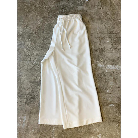 m's braque / DRAWSTRING EASY WIDE PANTS