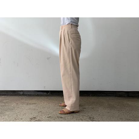 AURALEE / WASHED SHANKAR WIDE CORDUROY SLACKS