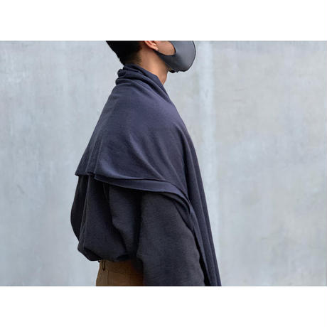 FilMelange / LEEK-M リネンコットンクール天竺 スカーフ