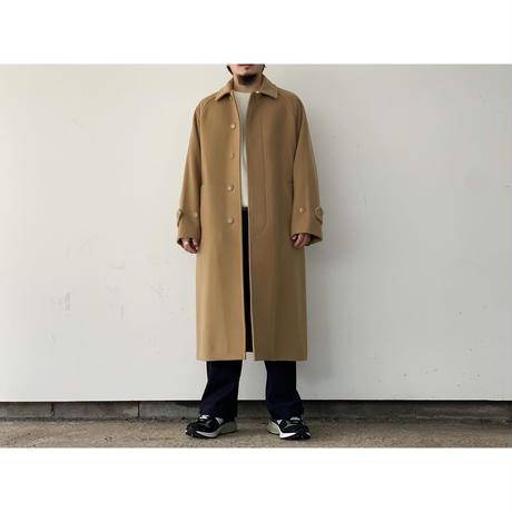 AURALEE (MEN'S) / CASHMERE WOOL MOSSER SOUTIEN COLLAR COAT
