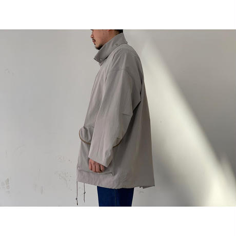 AURALEE / WASHED FINX RIPSTOP CHAMBRAY BIG FIELD BLOUSON