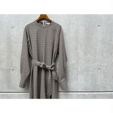 SCYE / Wool Checked Dress