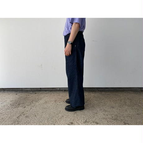 AURALEE / HARD TWIST DENIM WIDE SLACKS