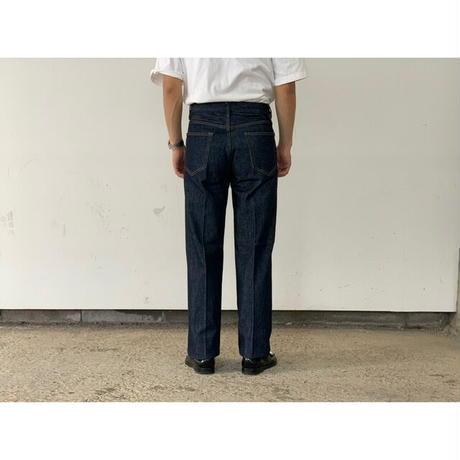 AURALEE / HARD TWIST DENIM 5P PANTS