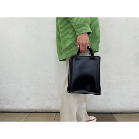 PIENI / TOTE S (BLACK×NATURAL)