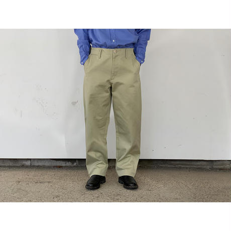 AURALEE / WASHED FINX LIGHT CHINO PANTS
