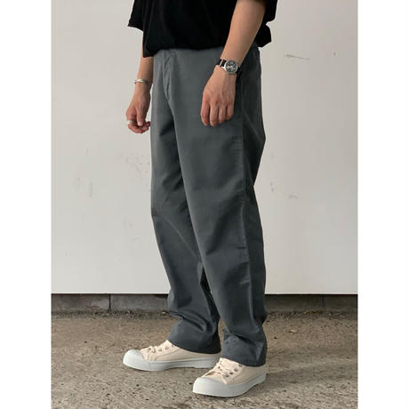 AURALEE / WASHED FINX BUGGY SATIN WIDE PANTS