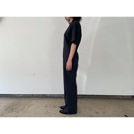 AURALEE / FINX NYLON STRETCH JUMPSUIT