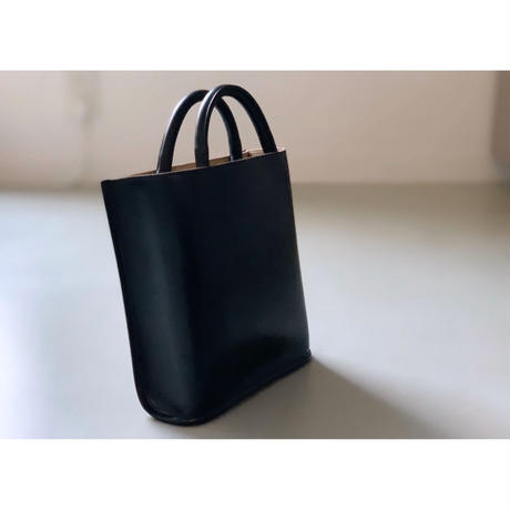 PIENI / TOTE S (BLACK×GREY)