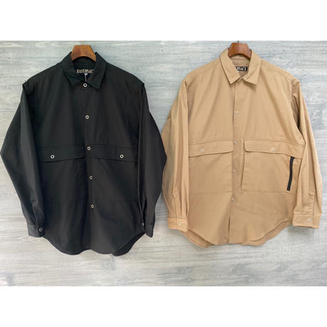 HAVERSACK / COTTON NYLON OXFORD SHIRT
