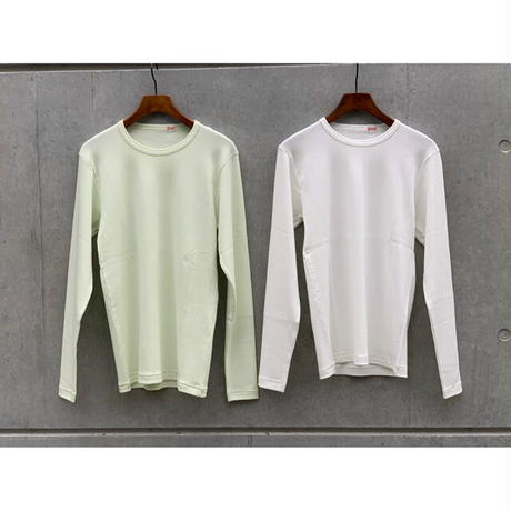 YOUNG&OLSEN / SUVIN FRENCH RIB LS TEE