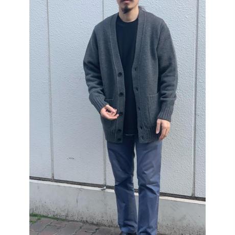 SLOANE(MEN`S) / 5Gスーパージーロンラムズウール天竺 Vカーディガン
