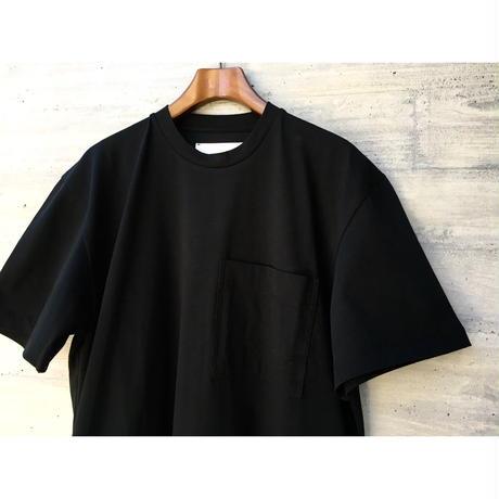 STUDIO NICHOLSON / MERCERIZED COTTON SHORT SLEEVE JERSEY DRESS