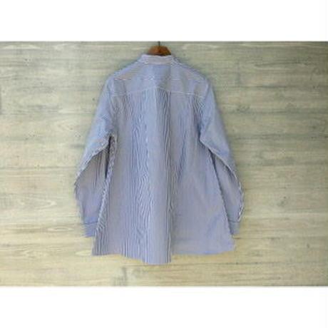 HAVERSACK / 126/2高密度ストライプフレアシャツ