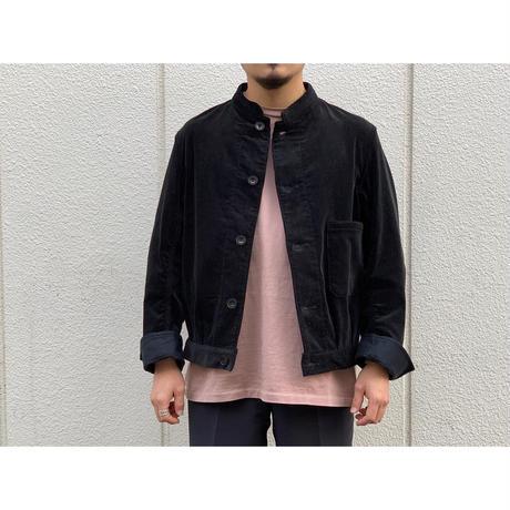 SCYE / Cotton Corduroy Stand Collar Work Jacket