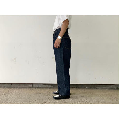AURALEE / HARD TWIST DENIM WIDE PANTS