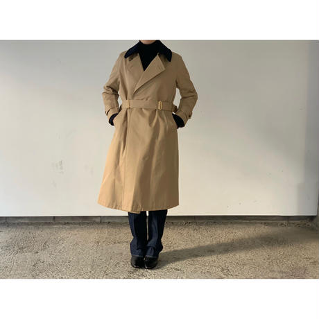 SCYE / GIZA Cotton Gabrdine Tielocken Coat