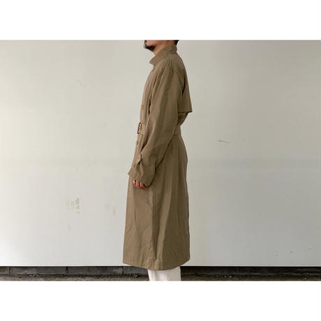 AURALEE / WASHED FINX CUPRO TWILL LONG COAT