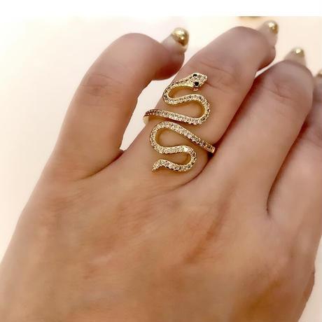 Lucky snake rings