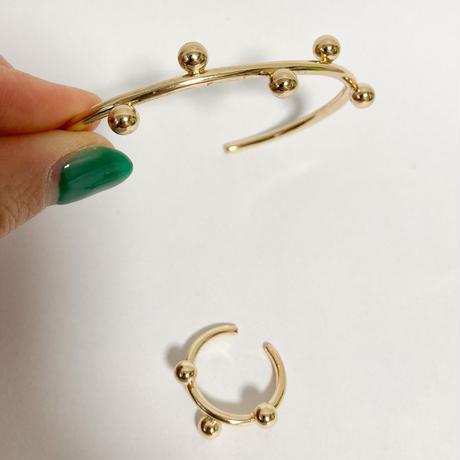 dots ring&bangle set