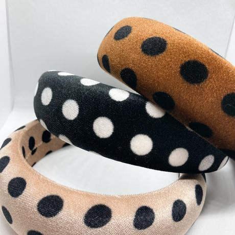 dots head band