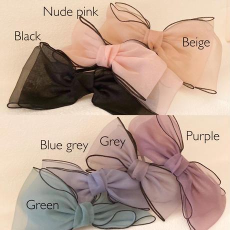 Tullet ribbon headband