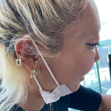 smiley earrings