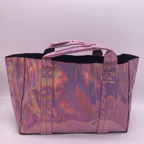 New holographic  mirror tote large