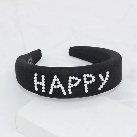 pearl message head band
