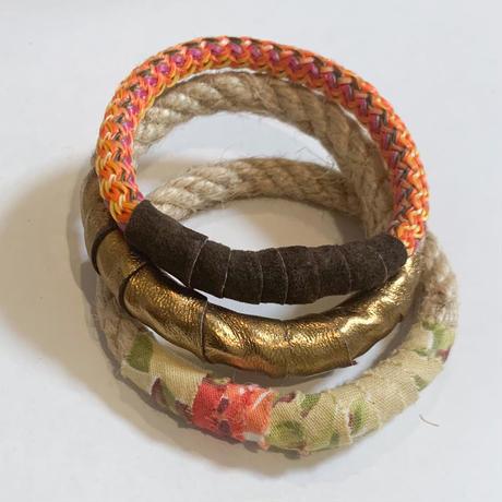 3 sets of Bohemian bangles