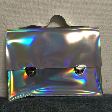 Holographic satchels bag