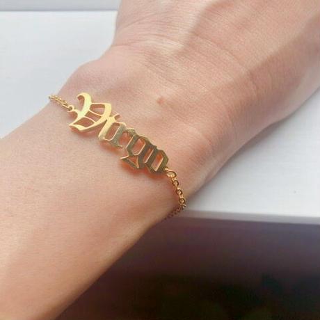 sign bracelet